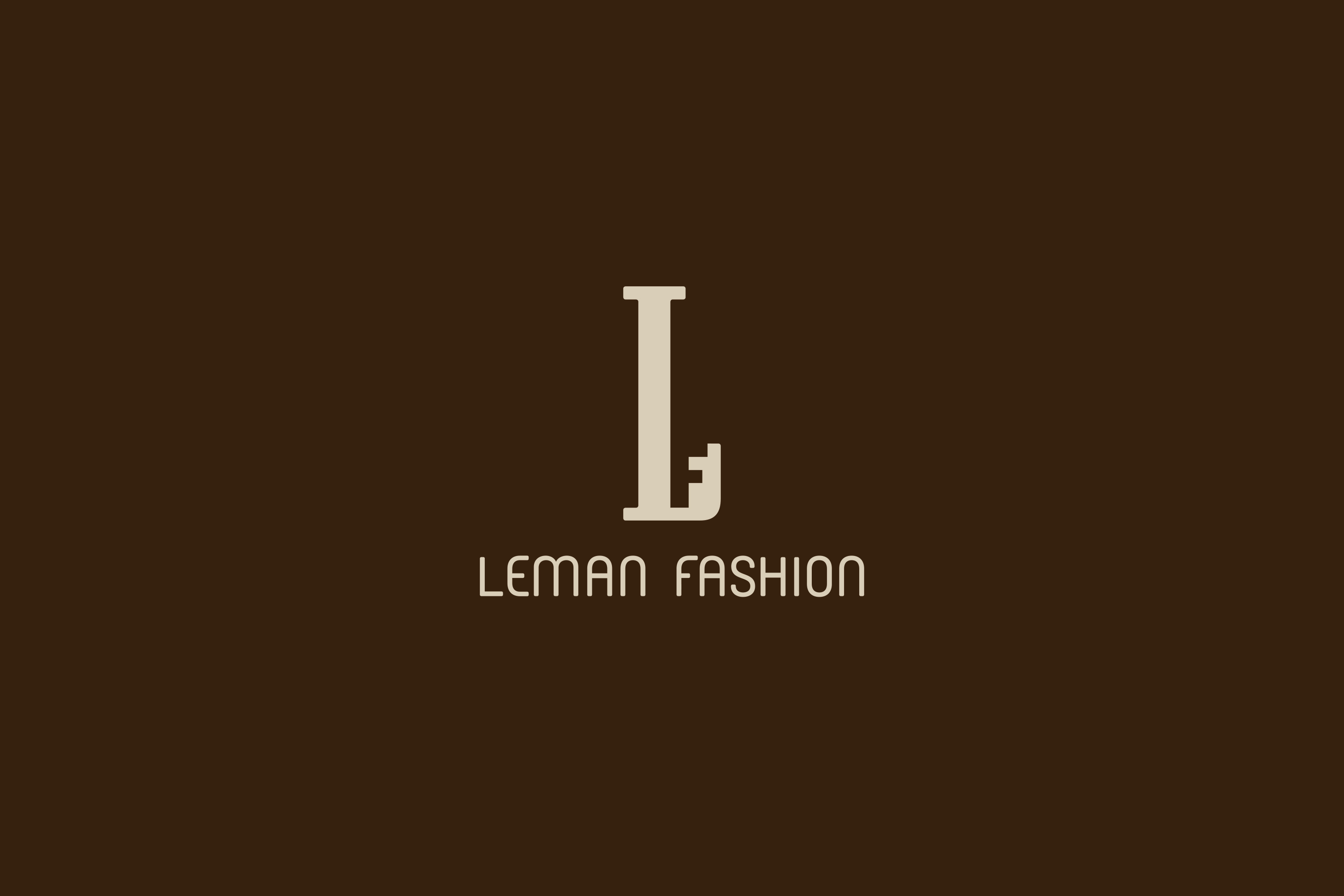 leman fashion logo couleur