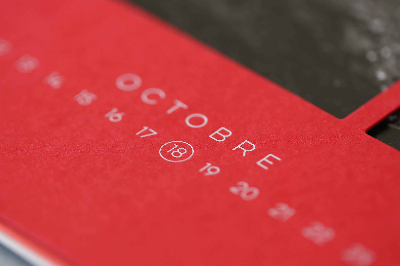 imprimerie genoud calendrier closeup