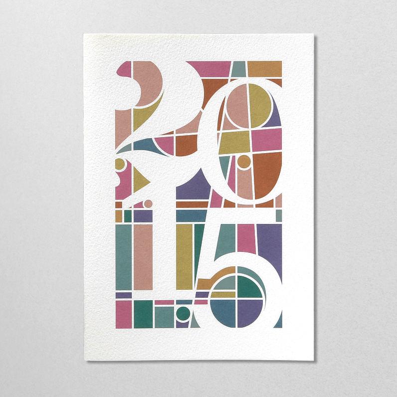 Genoud Arts Graphiques – Carte de voeux 2015