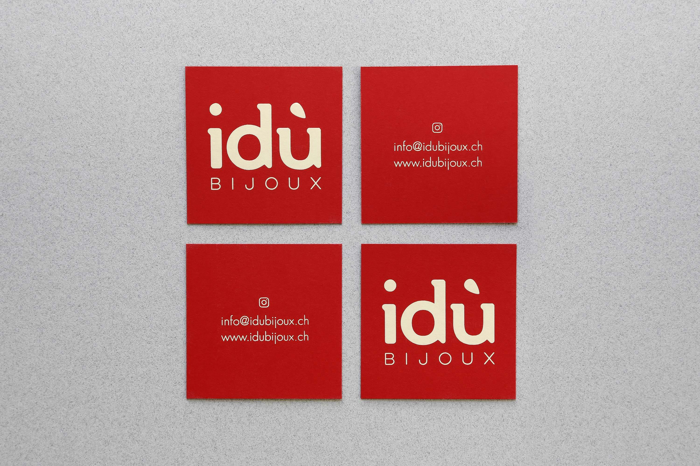 Amstudio Idu Bijoux Carte Visite 1