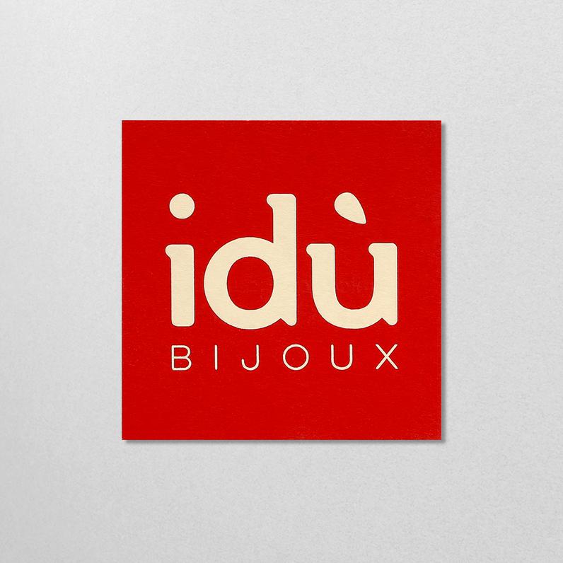 idù Bijoux – Identité visuelle 2017
