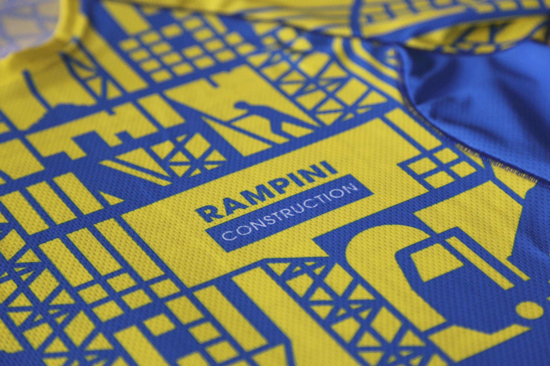 rampini construction maillot détails 1