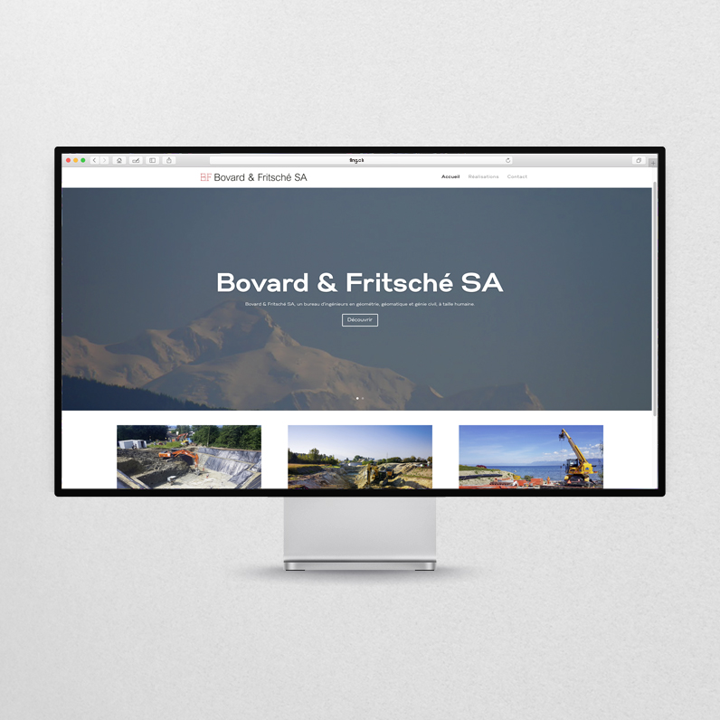 Bovard & Fritsché – Website 2019